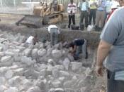 Na zachodnim brzegu jeziora prowadzone są prace archeologiczne w miejscowości Magdala. Kiedyś była ona potężnym ośrodkiem z 230 łodziami rybackimi.