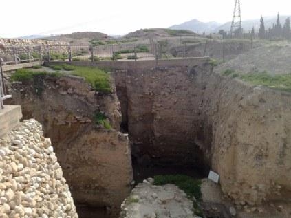 Najstarsze siedlisko ludzkie świata. W 8000 przed Chrystusem trudno jeszcze mówić o mieście...