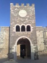 Betfage - wejście do kościoła Franciszkanów