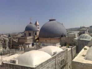 2 kopuły Bazyliki Bożego Grobu