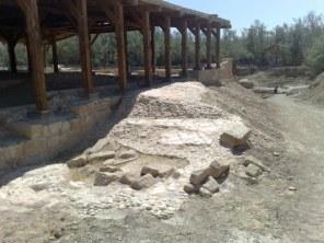 Znajdują się w nim także starożytne mozaiki.