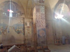 Pozostałości fresków