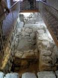 Odkryte resztki budynków z czasów rzymskich.