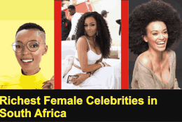 Top 5 Most Paid Female Celebrities In South Africa