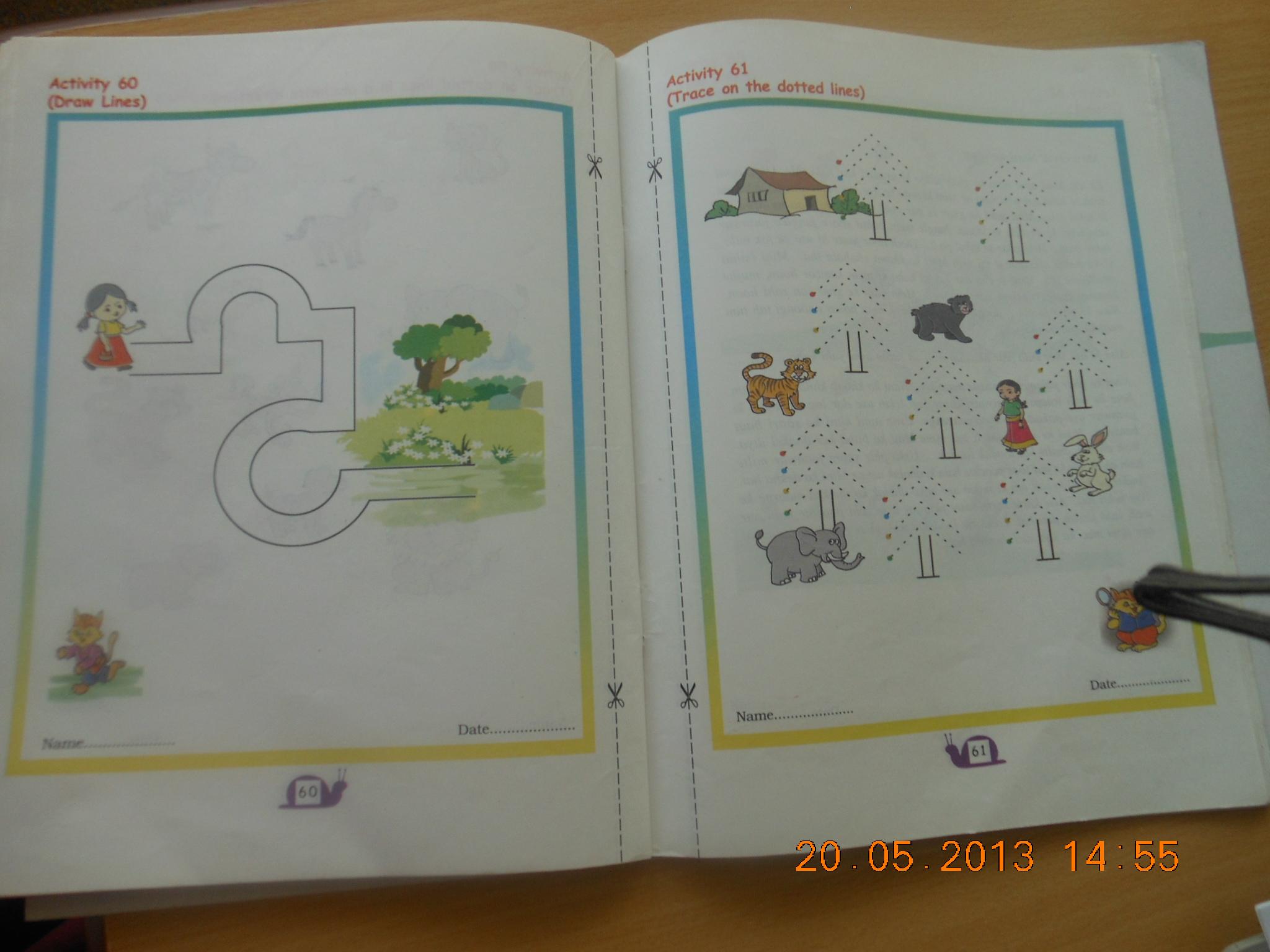 Kendriya Vidyalaya Class 1 Hindi Worksheets