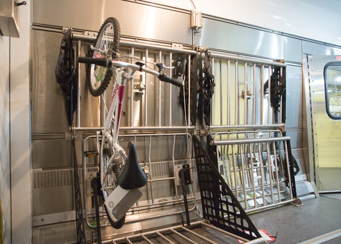 New bike-friendly baggage cars produced at CAF USA will be available on Amtrak long-distance routes by the end of the year.