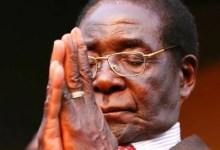 Former President of Zimbabwe Robert G Mugabe