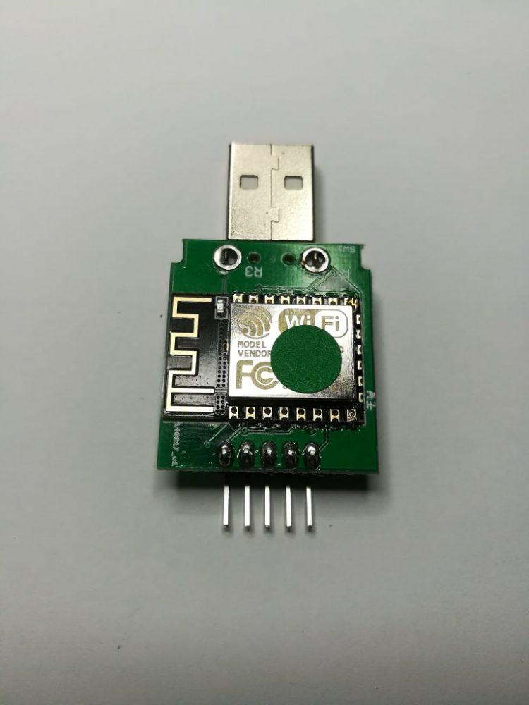 Module WiFi ESP8266 pile