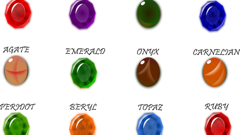 GEMS AND STONES 1