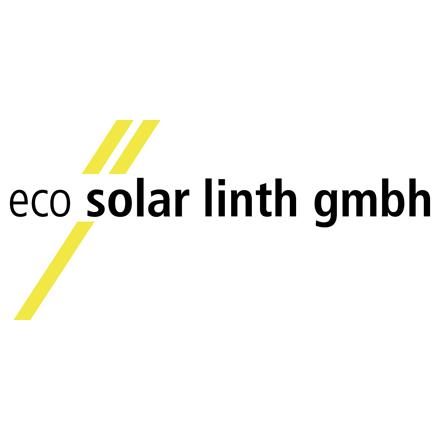 Logo eco solar linth gmbh