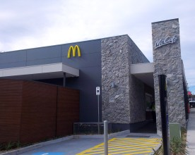 The newly opened McDonald's store in Tecoma. Photo: Amy Robertson