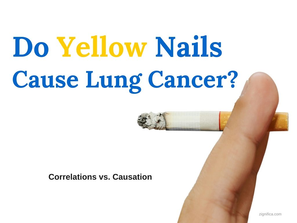 Do Yellow Nails Cause Lung Cancer