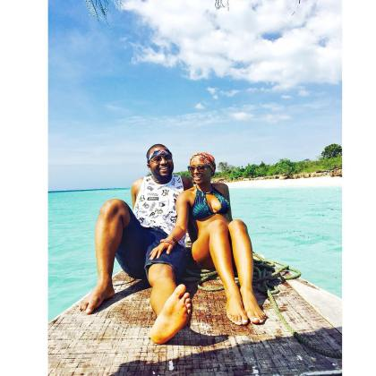 Cassper Nyovest and Boity on Vacation