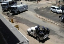 Police Put Harare on Lockdown after #Tajamuka Protests - Pictures