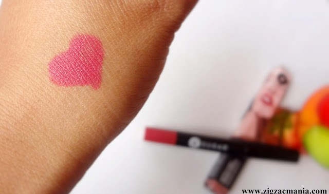 Sugar Cosmetics Matte As Hell Crayon Lipstick Rose Dawson Review & Swatches