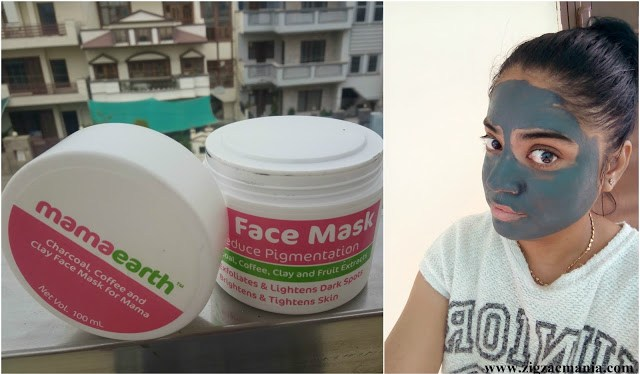 Mama Earth C3 –Charcoal, Clay and Coffee Face Mask Review