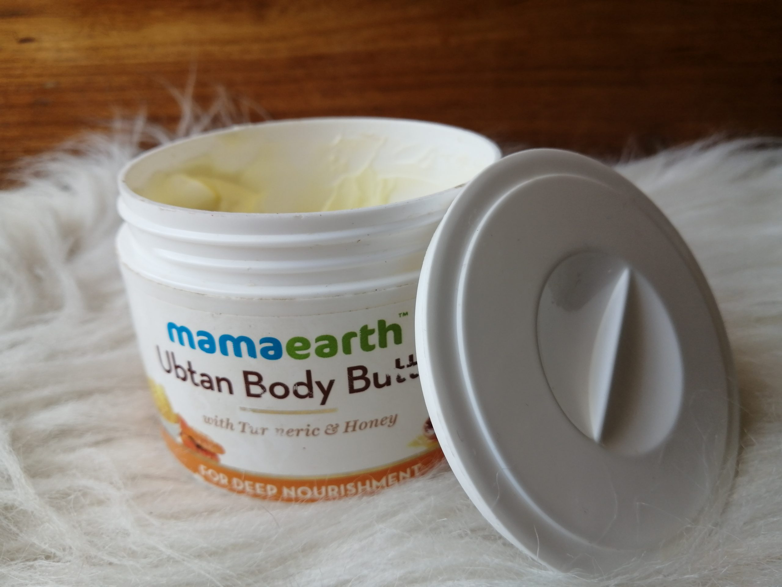 Mamaearth ubtan body butter.