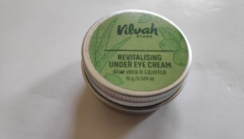 Vilvah Revitalising Under-eye Cream|Review