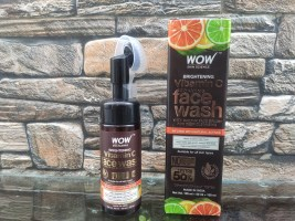 WOW Skin Science Brightening Vitamin C Foaming Face Wash| Review