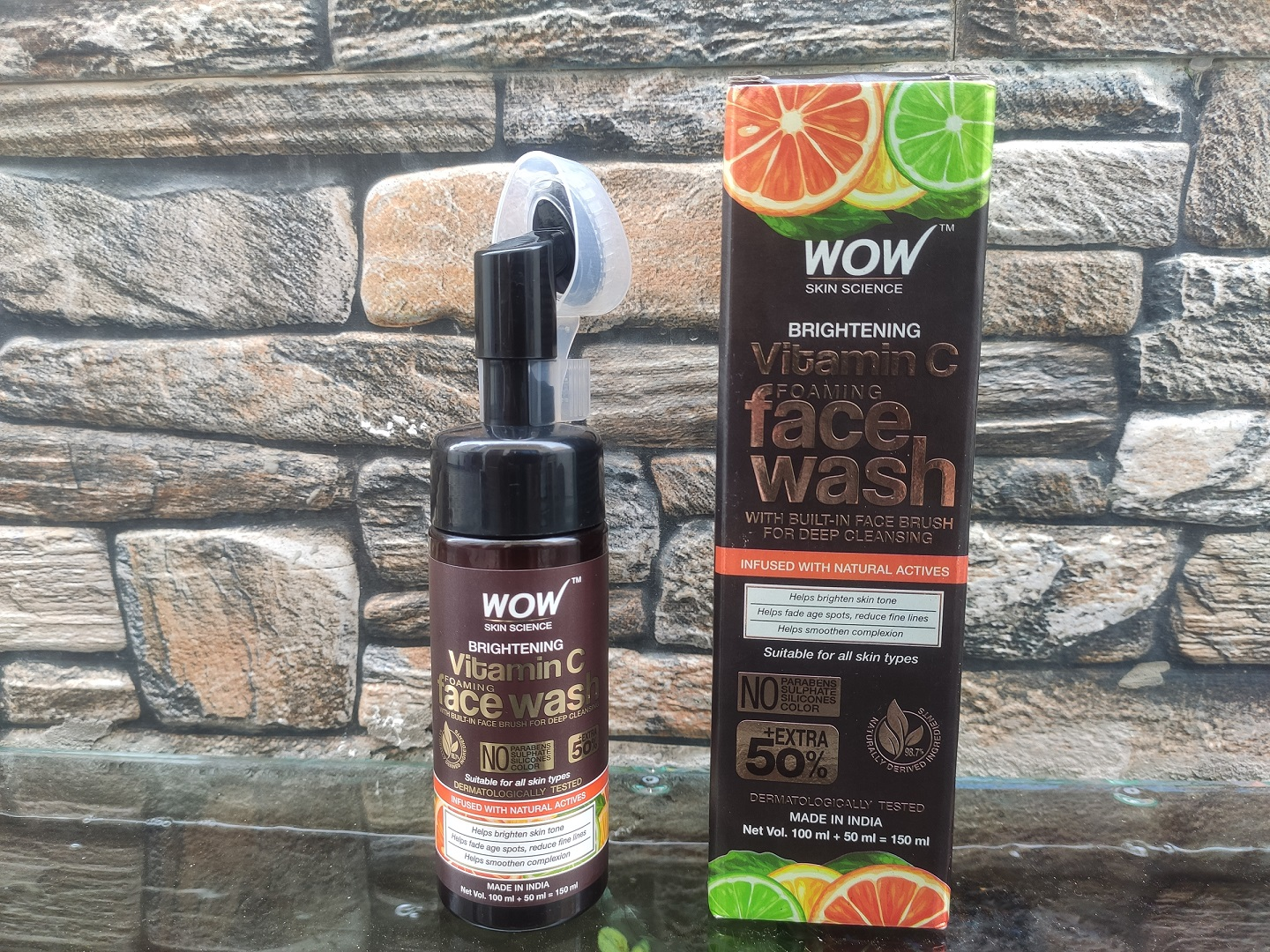 WOW Skin Science Brightening Vitamin C Foaming Face Wash