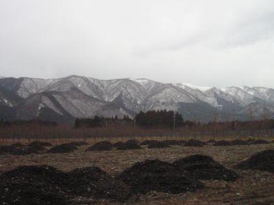 ピックランドから見たマキノ山系