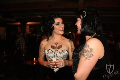 Lola Frost & Delilah Diabolic mingle post show.