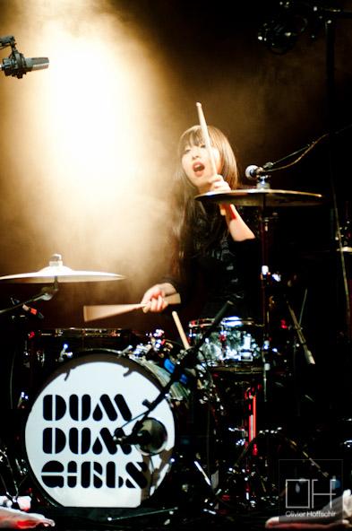 Dum Dum Girls @ L'Olympia - Festival des Inrocks