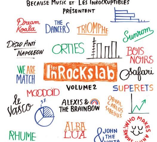 Compiles InRocks Lab Vol.2 à GAGNER