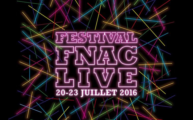 Fnac Live 2016 – La programmation (presque) complète !