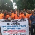 ザンビアの若者に希望をもたらすスポーツ、ハンドボール!