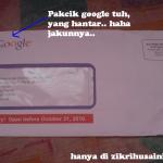 Surat saman dari google!