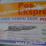 Surat misteri dari Bro mancai a.k.a hairilhazlan.com!