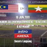 Malaysia kalahkan myanmar 2-0 perlawanan persahabatan june 18 2011