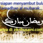 Persediaan diri sebelum menyambut ramadhan (fizikal/kesihatan)