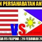 Keputusan perlawanan persahabatan diantara Malaysia vs Philipina 29 Februari 2012