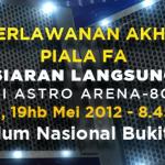 Kelantan juara Piala FA, 2012. Tahniah dari Zikri Husaini dot com (eceh)!!piala fa 2012