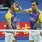 Zakry-Fairuzizuan mara pusingan ketiga( Kejohanan Dunia 2013 Guangzhao, China)