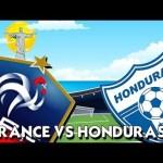 Keputusan France vs Honduras 16 june 2014 (3-0)