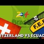 Keputusan terkini Switzerland vs ecuador 16 jun 2014