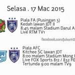 Full video gol highlights jdt 0-2 kitchee afc cup 17/3/2015