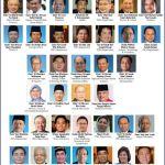 Senarai penuh kabinet 2015-2018 (Gambar)