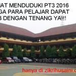 Selamat menduduki peperiksaan pt3 2016 (ujian bertulis)