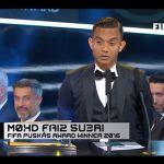 Faiz Subri menang puskas fifa award, tahniah!!