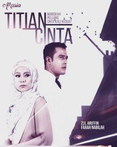 titian cinta, titian cinta poster, poster drama titian cinta,
