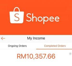 pendapatan shopee.
