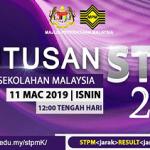 Semak keputusan STPM 2018 PENGGAL 1,2,3 secara online/sms