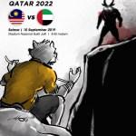 Info tiket MALAYSIA VS UAE 10.9.2019