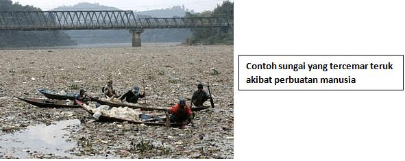 sungai tercemar,