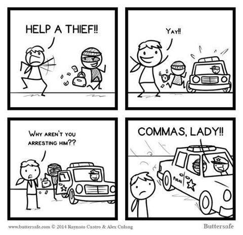 comma comic