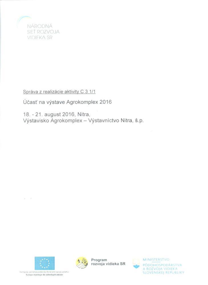 Správa C 3 1-1 ZA1